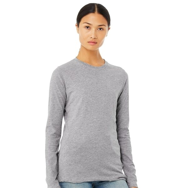 Promotional Bella + Canvas - Womens Long Sleeve Jersey Tee - 6500