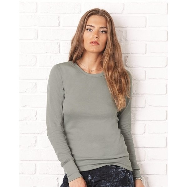 Promotional Bella + Canvas - Womens Long Sleeve Thermal Shirt - 8500
