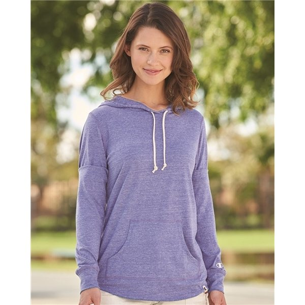 Promotional Champion - Originals Womens Triblend Hooded Pullover