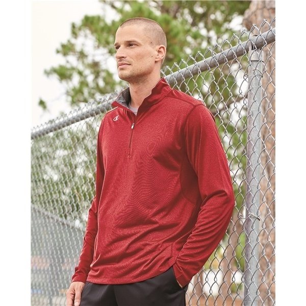Promotional Champion - Vapor Performance Heather Quarter - Zip Pullover