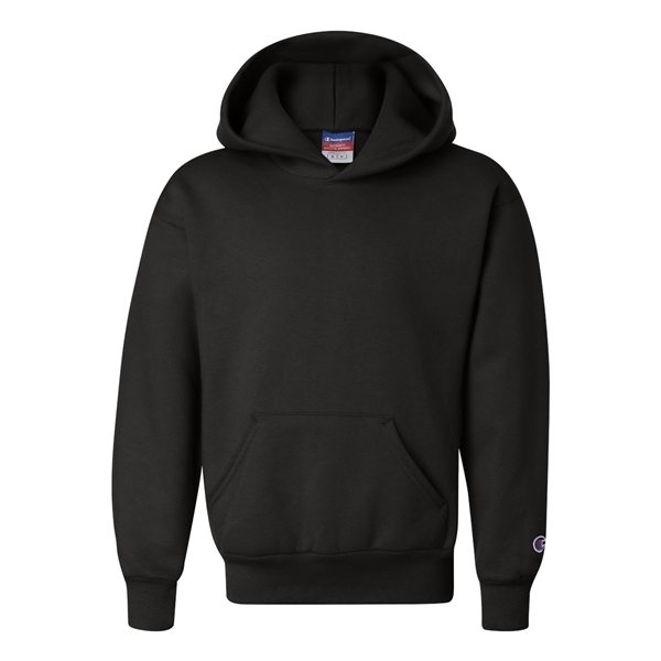 Promotional Champion - Double Dry Eco Youth Hooded Sweatshirt
