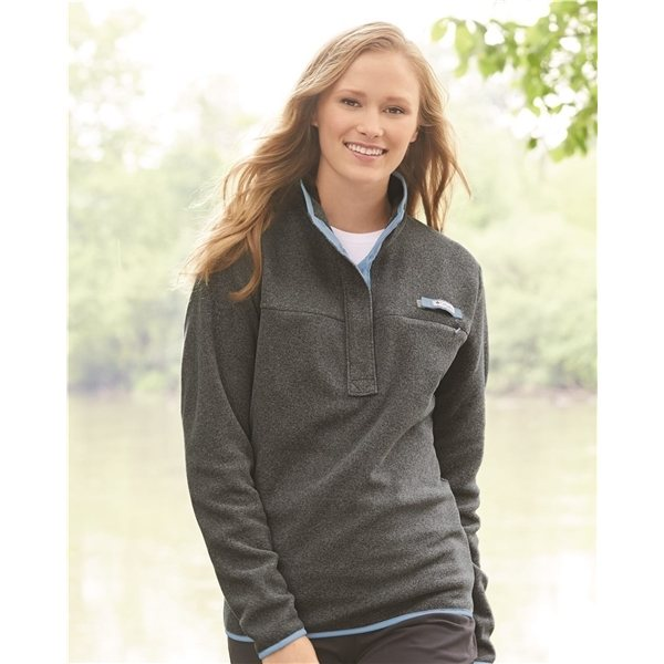 Promotional Columbia - Womens Harborside Fleece Pullover