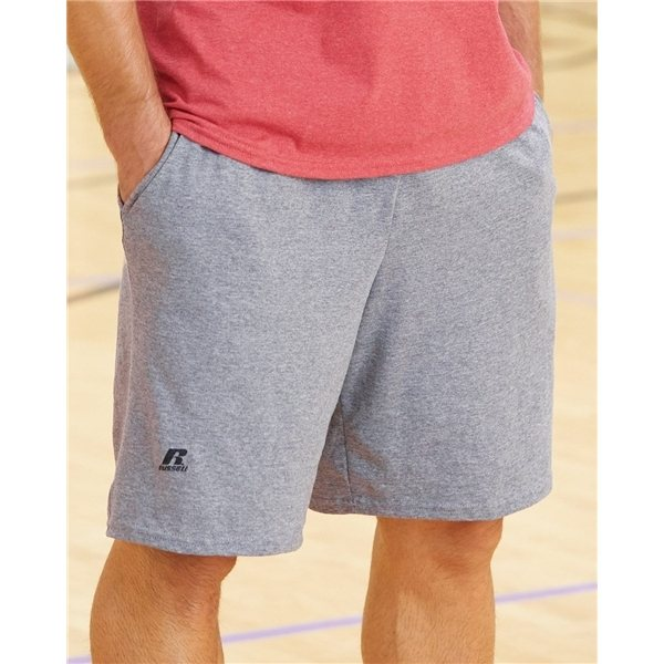Promotional Russell Athletic - Essential Jersey Cotton Shorts with Pockets