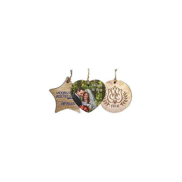 Promotional Wood Ornaments