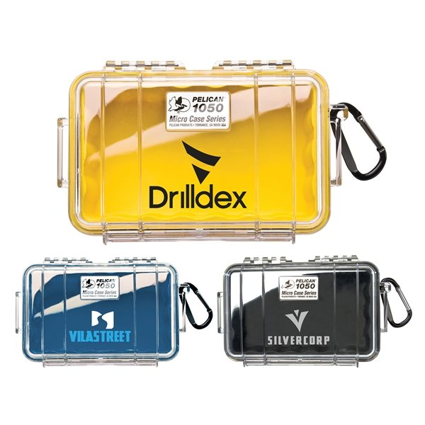Promotional Pelican(TM) 1050 Micro Case - Clear Lid