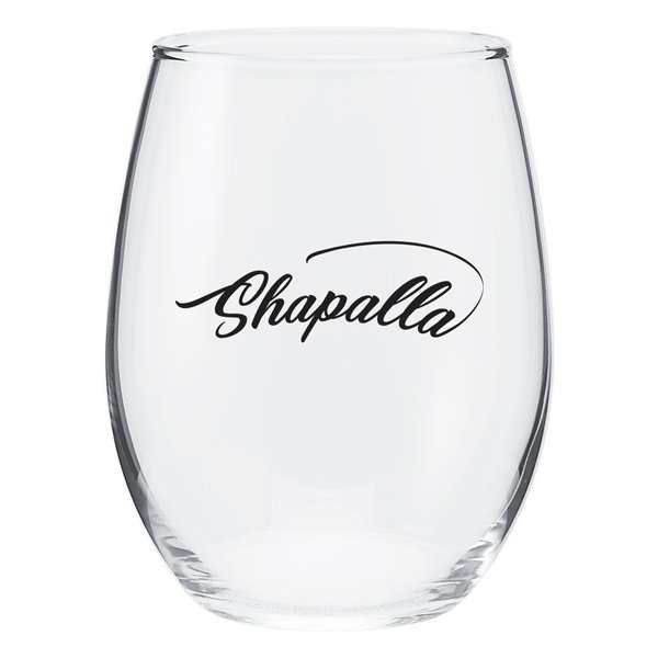 Promotional 17 oz Perfection Stemless Wine Glass - Clear