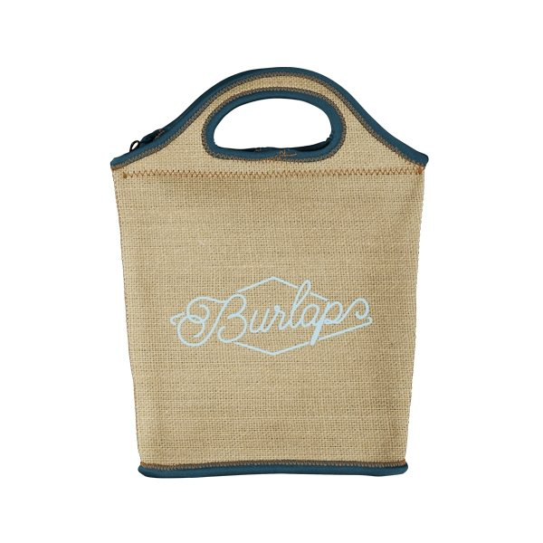 Promotional Venti Burlap Neoprene Lunch Bag