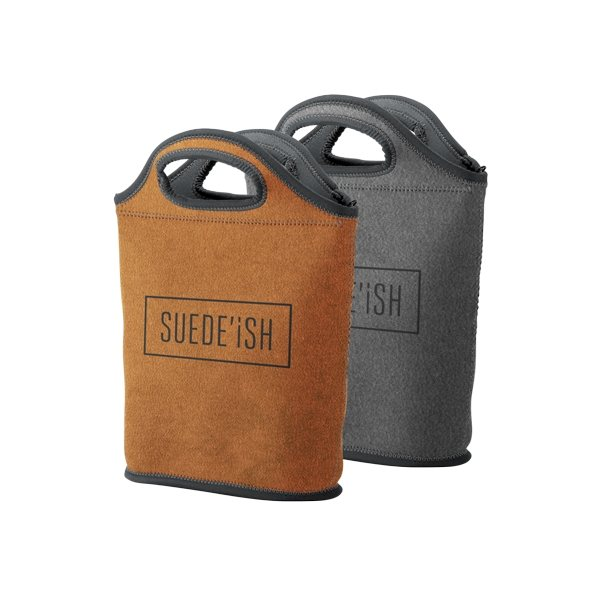 Promotional Venti Suede - Ish Neoprene Lunch Bag