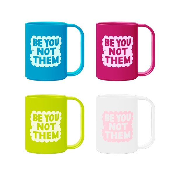 Promotional Plastic Mug - Up Your Standard