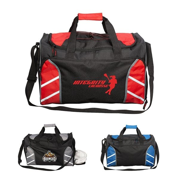 Promotional 600D Polyester Sports Duffel