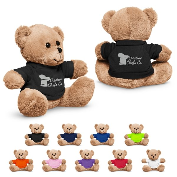 Promotional 7 Plush Bear with T - Shirt