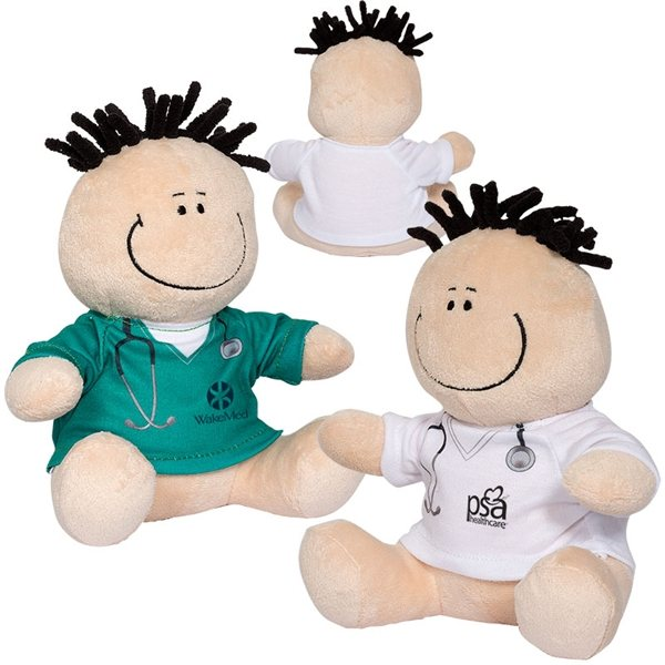Promotional 7 Doctor or Nurse MopToppers(R) Plush