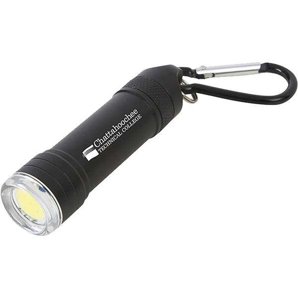 Promotional Pull Apart COB Flashlight Key Chain