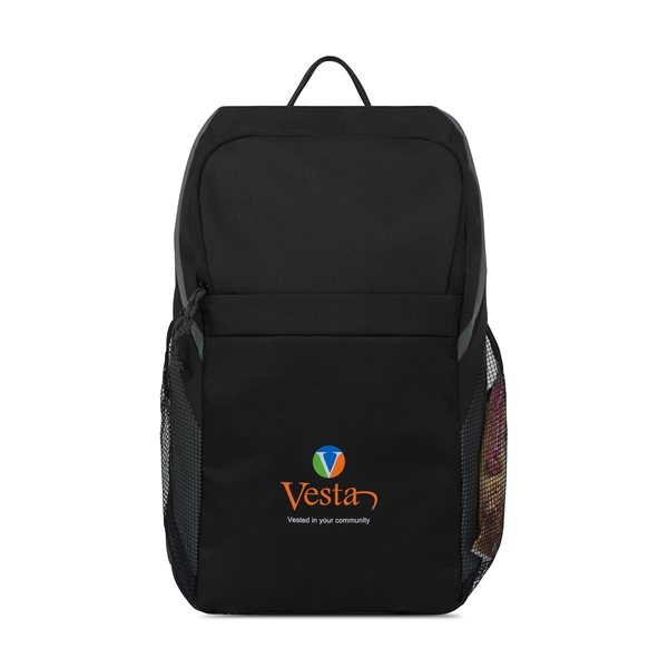 Promotional Sycamore Computer Backpack - Black