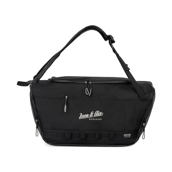 Promotional Heritage Supply(TM) Highline Convertible Duffel - Black