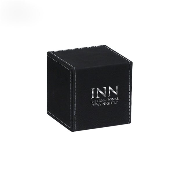 Promotional Cube Paperweight - Black