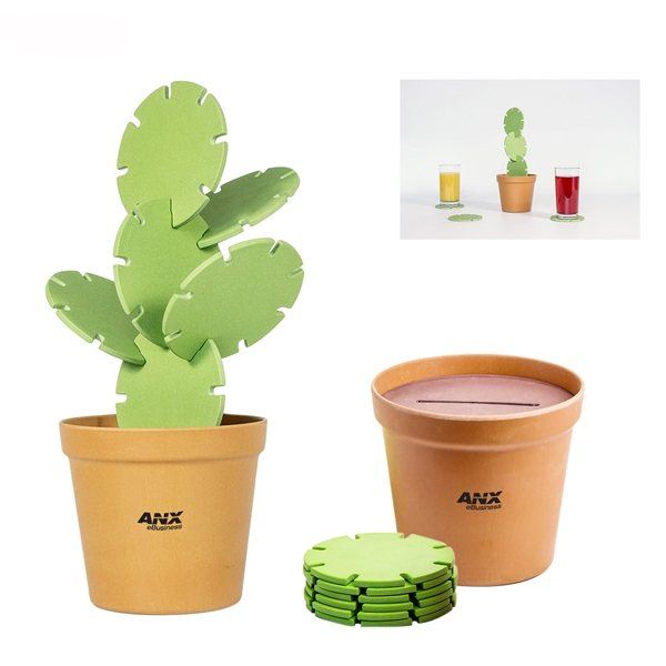 Promotional suckUK Cactus Coasters