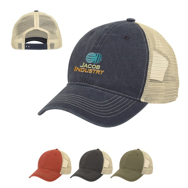 Promotional Old School Mesh Back Cap