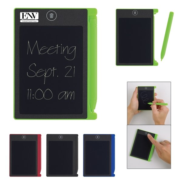 Promotional Digital Notepad With Stylus