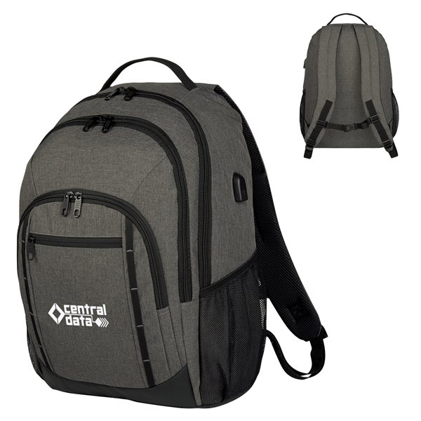 Promotional Reagan Heathered Backpack
