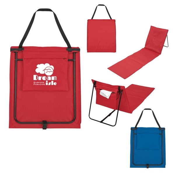 Promotional Folding Beach Mat Lounger