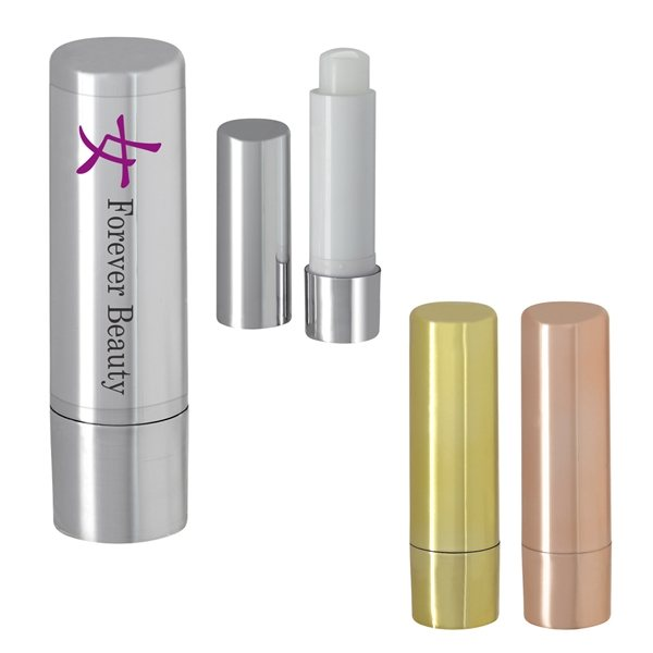 Promotional Metallic Lip Moisturizer Stick