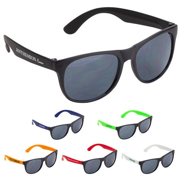 Promotional Naples Durable UV400 Protective Sunglasses