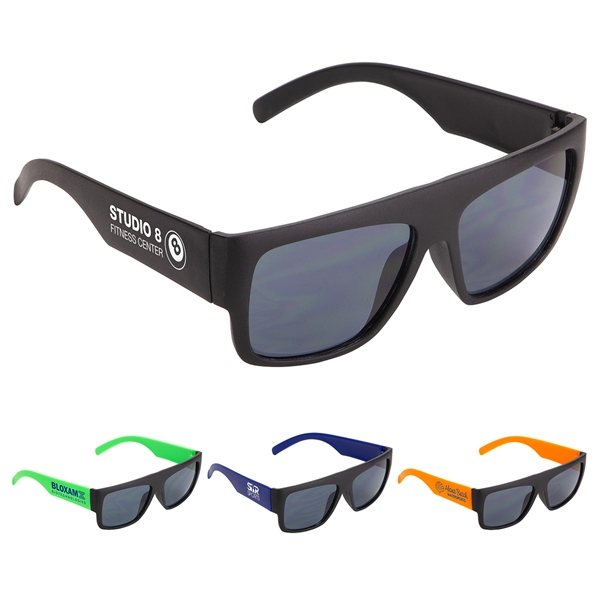 Promotional Delray Two - Tone Sunglasses