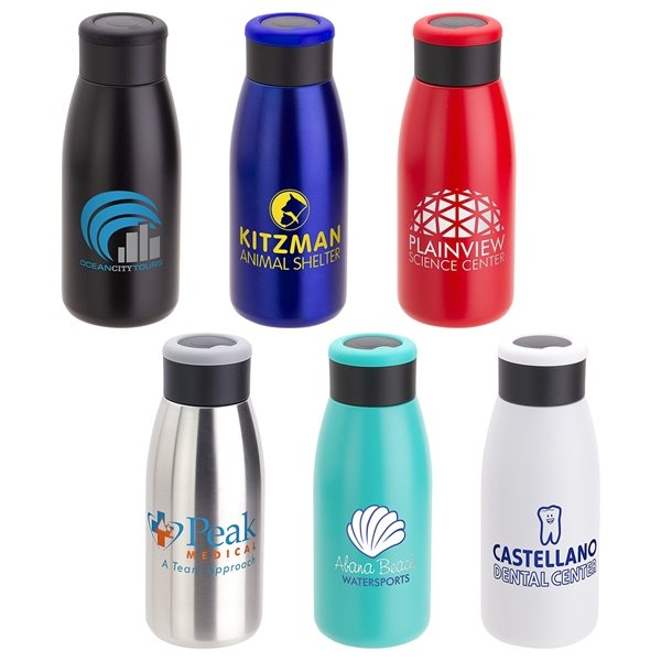 Promotional Avion 12 oz Vacuum Insulated Stainless Steel Bottle