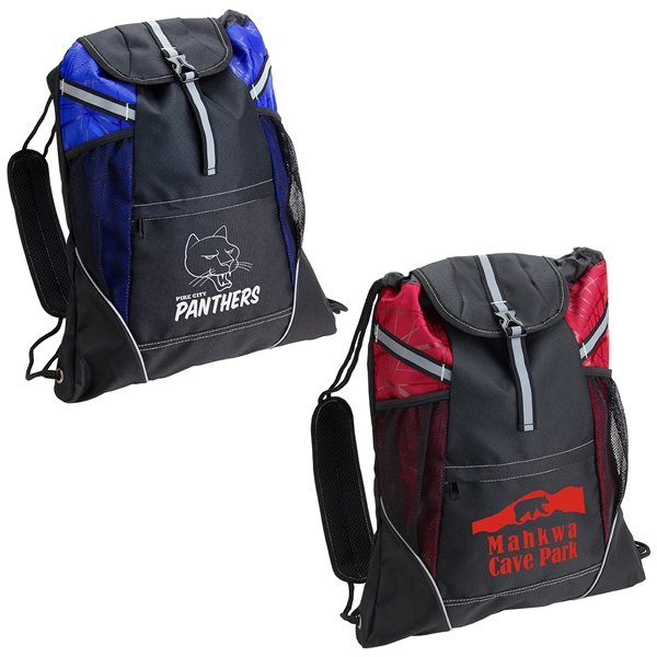 Promotional Padded Drawstring Cinch Pack