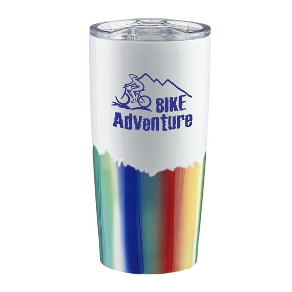 Promotional 20 oz Northern Lights Stainless Steel Tumbler