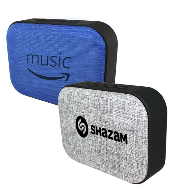 Promotional Fabric Wireless Speaker / Radio
