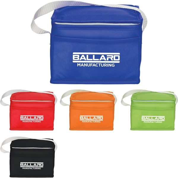 Promotional Budget Non - Woven 6 Can Lunch Cooler