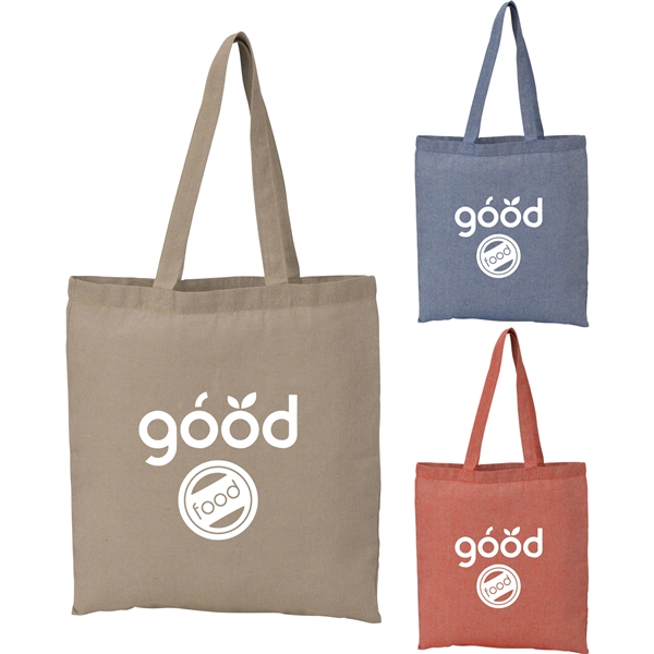 Promotional Recycled 5oz Cotton Twill Tote -