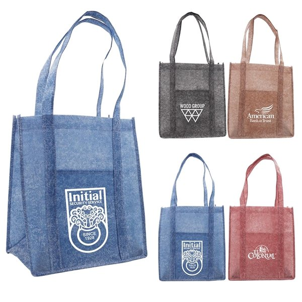 Promotional Stone Grocery Tote