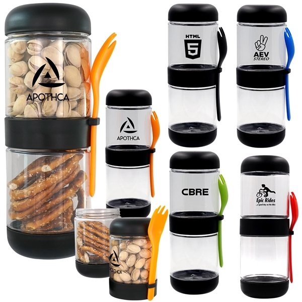 Promotional Snack Stackers Stackable Containers