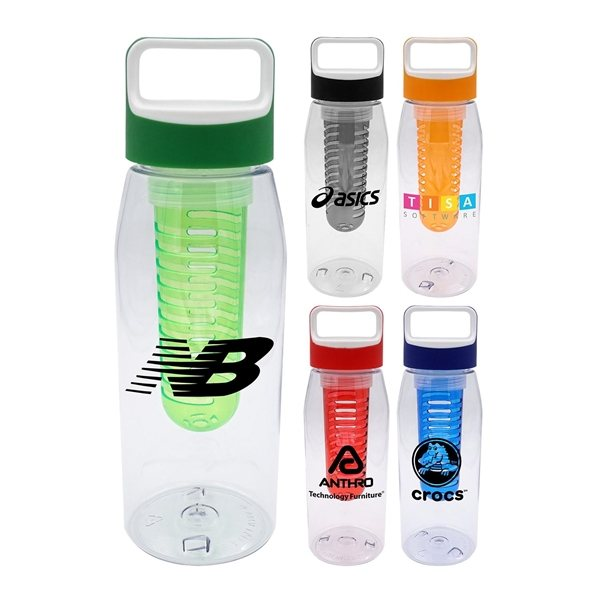 Promotional Boxy 32 oz Bottle with Infuser