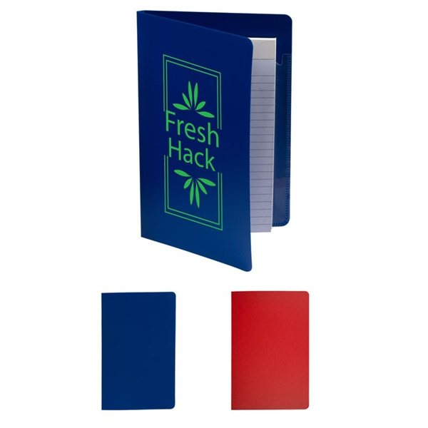 Promotional Junior PP Folder with Writing Pad