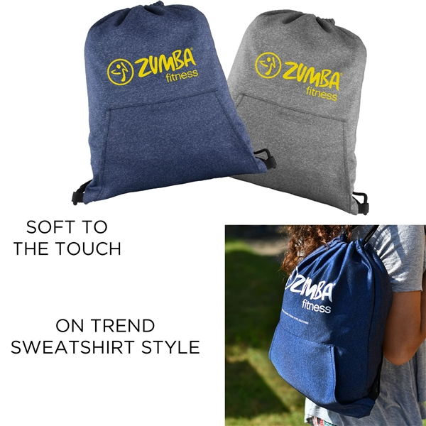 Promotional Hype Drawstring Backpack