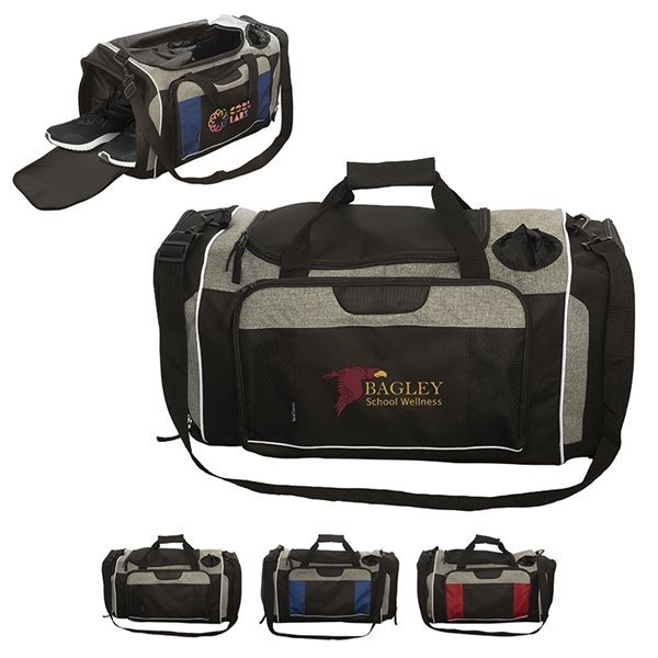 Promotional Porter Hydrate and Fitness Duffel Bag
