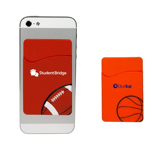 Promotional Sport - Themed Silicone Phone Pockets