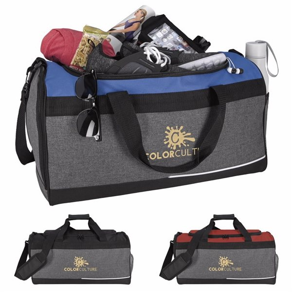 Promotional Two - Tone Playoff Duffel