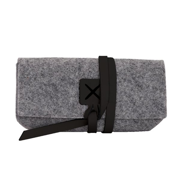 Promotional Sierra Recycled Felt Sunglass Case