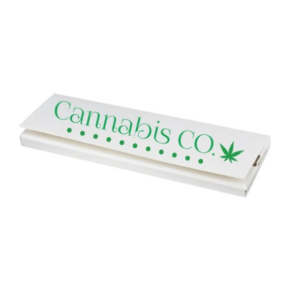 Promotional Custom Rolling Papers with Pad Print 1 1/4