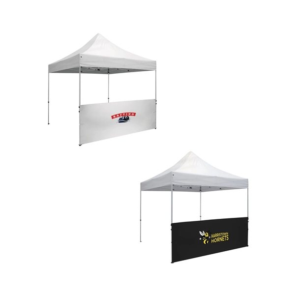 Promotional Deluxe 10 Tent Half Wall Kit (Full - Color Imprint)