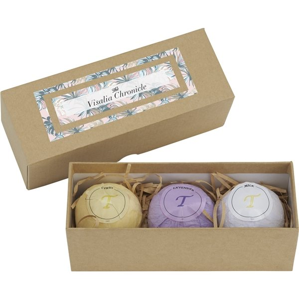Promotional Tranquility 3- Piece Spa Scent Gift Set