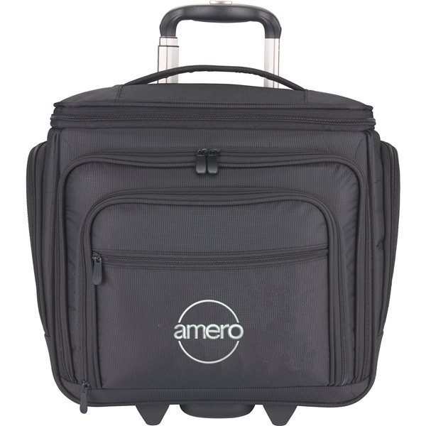 Promotional Hybrid Underseat / Carry - On Upright Luggage