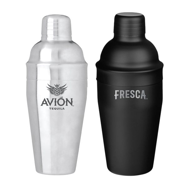 Promotional 18 oz Cosmo Stainless Steel Cocktail Shaker