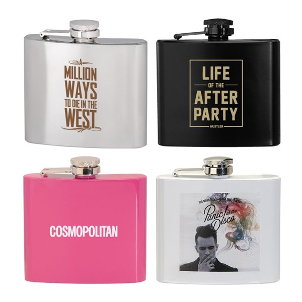 Promotional 5 oz Stainless Steel Hip Flask