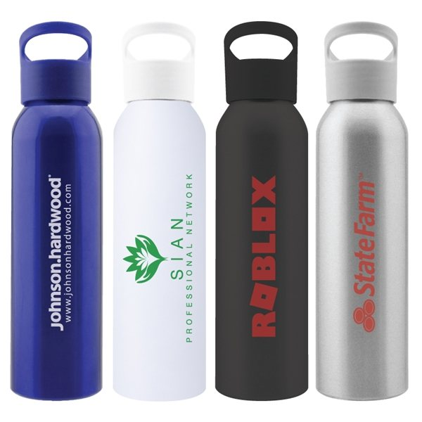 Promotional Victoria 20 oz Aluminum Water Bottle